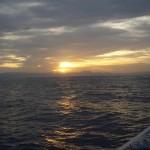 Puesta de sol cerca de Cabo Palos
