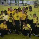 En la roda de Capoeira