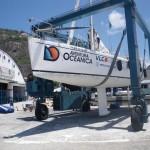Barco limpio y reparado