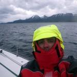 Pasando frío en el Canal de Beagle
