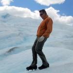 Caminando sobre el Perito Moreno