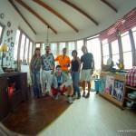 Vicky, Jorge, Paula, Pedro, Jose Carlos y yo