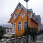 El colorido de las fachadas es muy variado