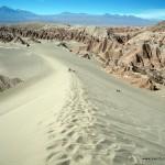 Dunas en el Valle de la Muerte